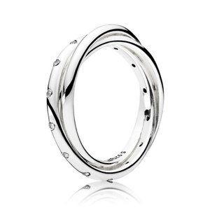 🍓Pandora Swirling Symmetry Ring